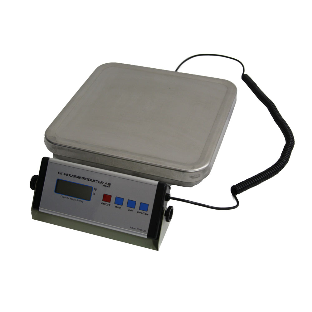 Paketvåg 150 kg kapacitet